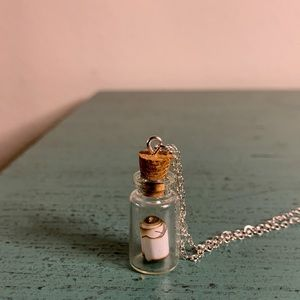 Jewelry - Message in A Bottle Necklace